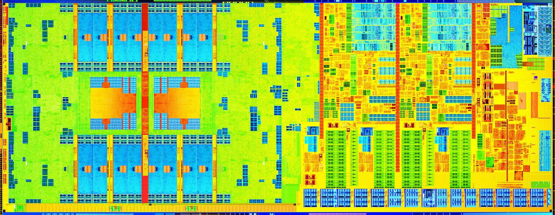 Kaufberatung: Worauf es bei einem Notebook ankommt - Die-Shot eines Haswell-Prozessors (Bild: Intel)
