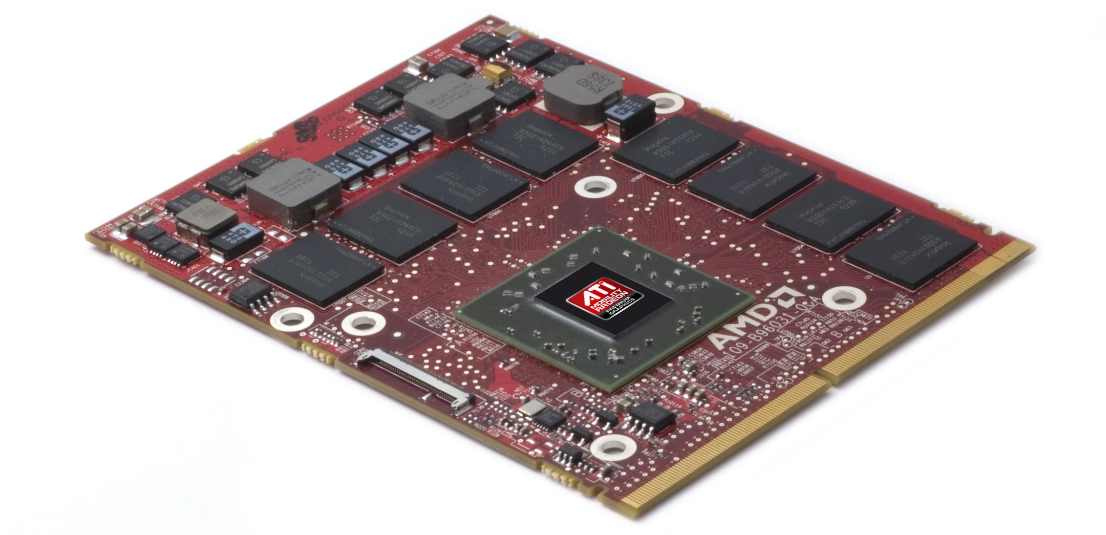 Kaufberatung: Worauf es bei einem Notebook ankommt - MXM-Modul mit Radeon-Grafikchip (Bild: AMD)