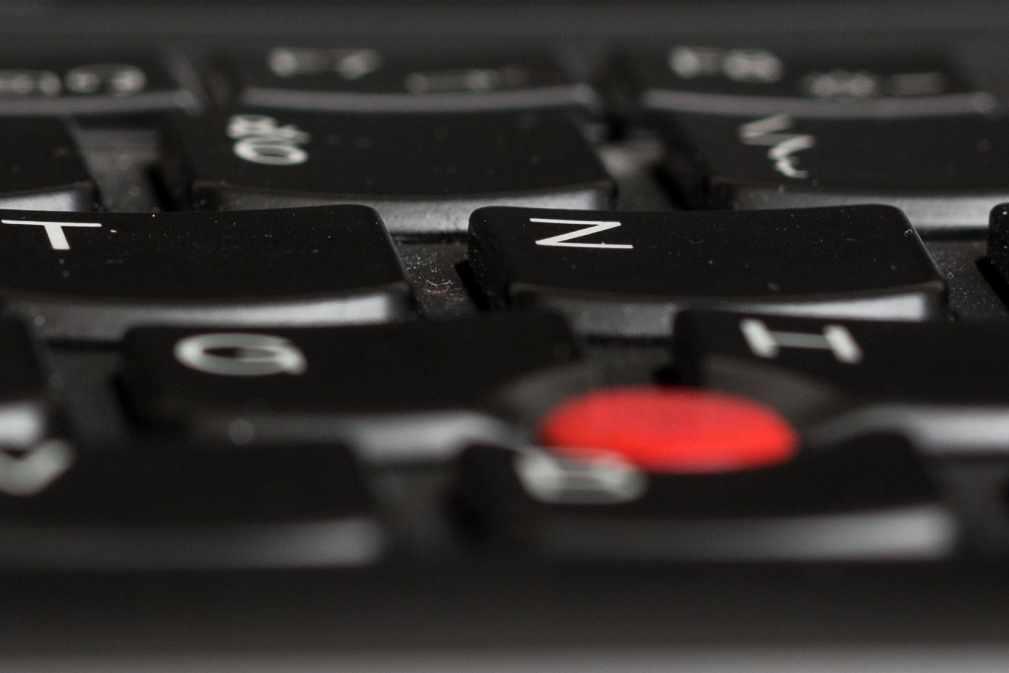 Kaufberatung: Worauf es bei einem Notebook ankommt - Chiclet-Tastatur mit konkaven Tasten (Bild: Fabian Hamacher/Golem.de)