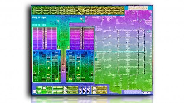 Die-Shot eines Richland-Prozessors (Bild: Intel)