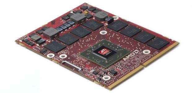 MXM-Modul mit Radeon-Grafikchip (Bild: AMD)