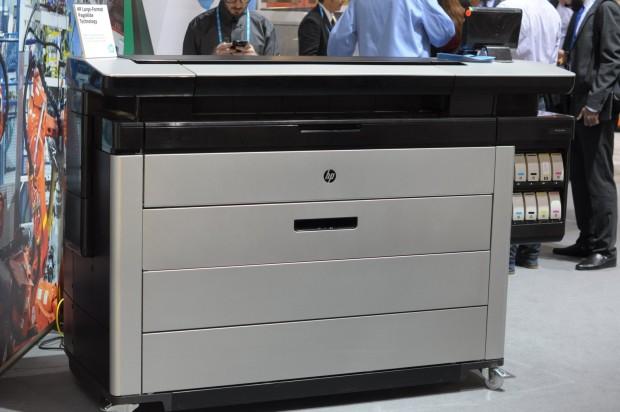 HPs neuer Designjet (Codename: Niagara) kommt Mitte 2015 auf den Markt. (Foto: Andreas Sebayang/Golem.de)