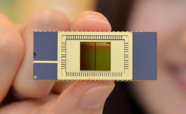 Ein 3D-NAND-Flash-Siliziumplättchen (Bild: Samsung)