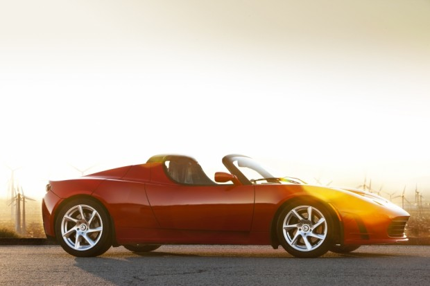 Teslas Roadster (Bild: Tesla Motors)