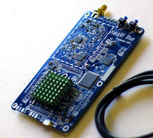 Das HackRF-Blue-Modul (Foto: HackRF Blue)