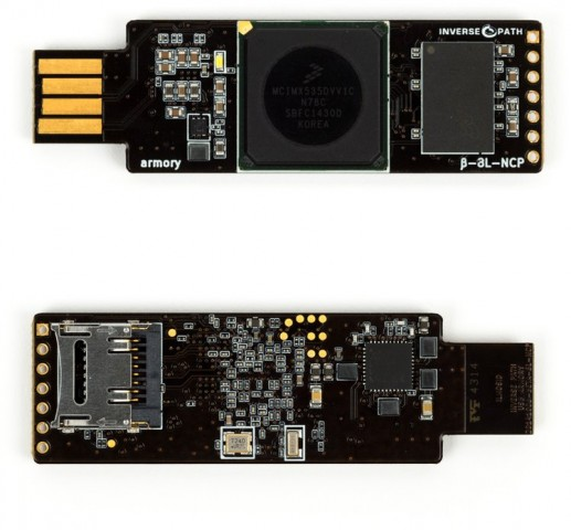USB Armory (Bilder: Inversepath)