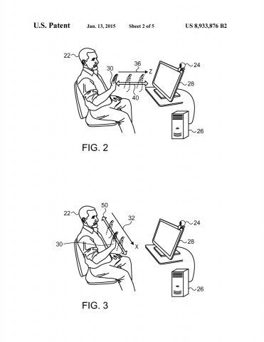 Apple-Patent 8933876 (Bild: USPO)