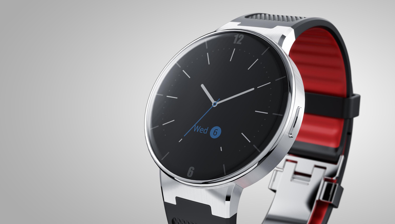 Alcatel Onetouch Watch: Runde Smartwatch für Android und iOS kostet 100 Euro - Watch (Bild: Alcatel Onetouch)