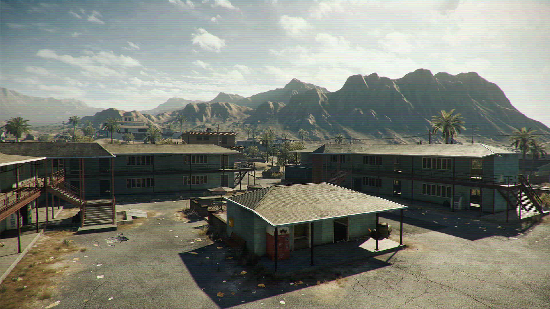 Visceral Games: Beta von Battlefield Hardline kommt für alle Systeme - Beta-Map von Battlefield Hardline (Bild: Electronic Arts)