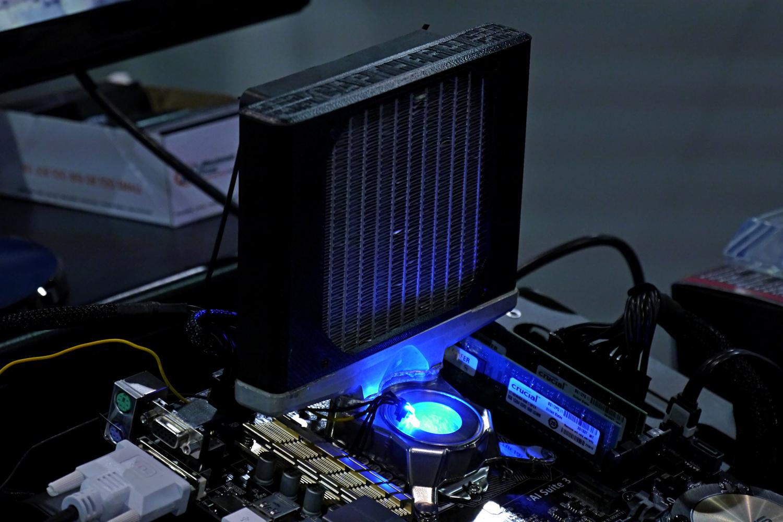 Captherm Multiphase Cooler: Der Prozessorkühler aus C4-Sprengschweißung -