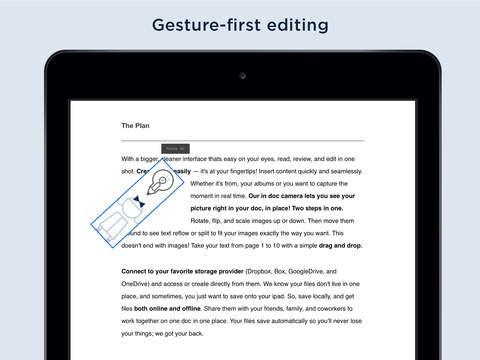 Cloudon für das iPad (Bild: Apple)
