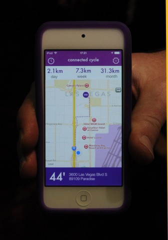 Die App zeigt Karte... (Foto: Nico Ernst)