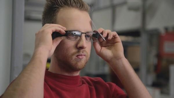 AR-Anwendung Vision Picking bei DHL (Bild: DHL)