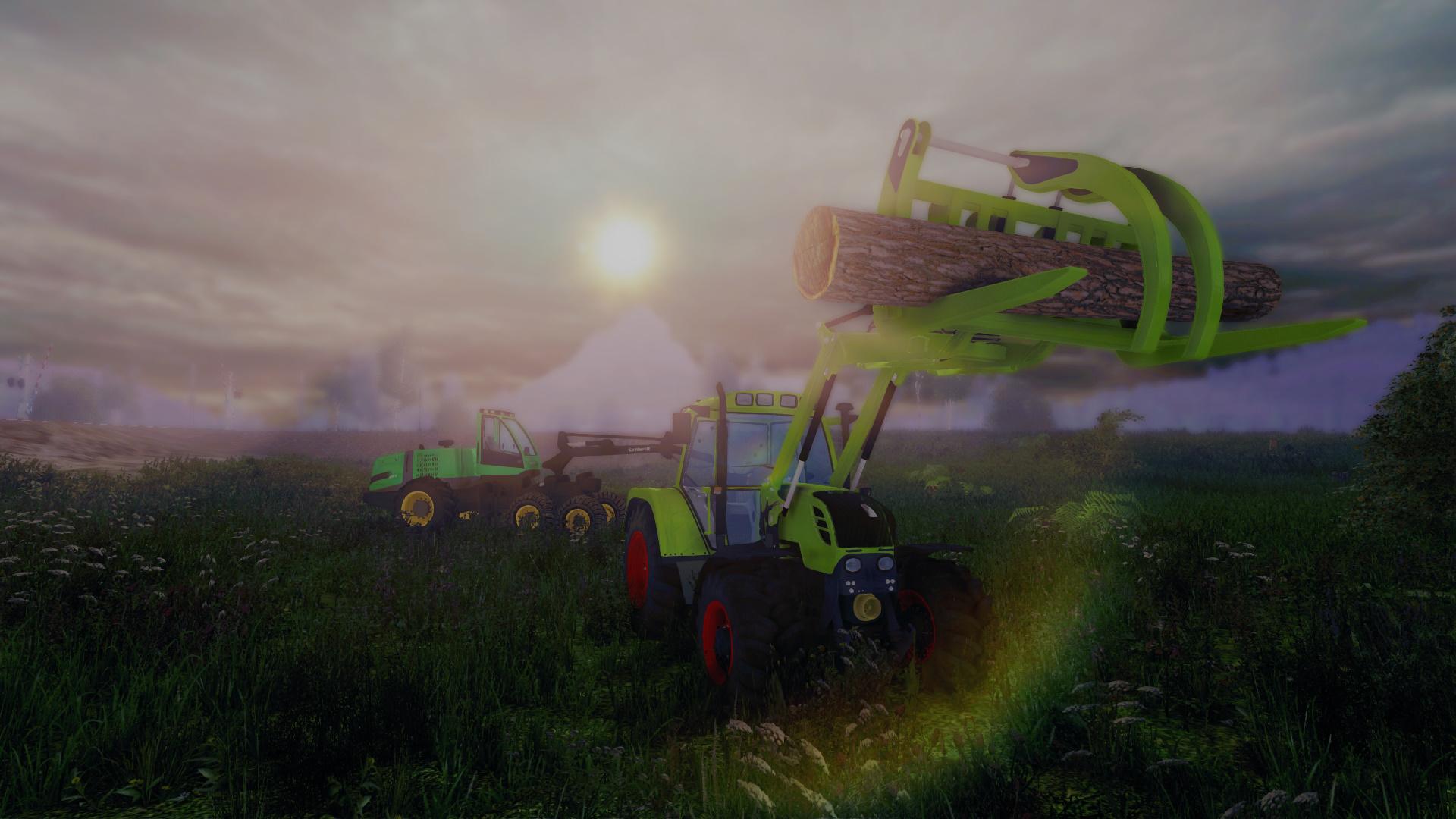 Serious Games: Landwirt und Forstwirt im Anmarsch - Der Forstwirt 2015 (Bild: Bandai Namco)