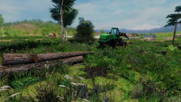 Der Forstwirt 2015 (Bild: Bandai Namco)