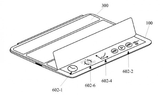 "Apple-Patentantrag ""Device Input Modes With Corresponding User Interfaces"" (Bild: USPTO)"