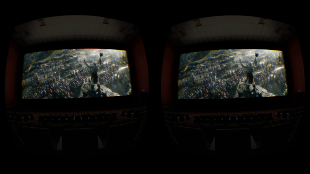 Oculus Cinema (Screenshot: Golem.de)