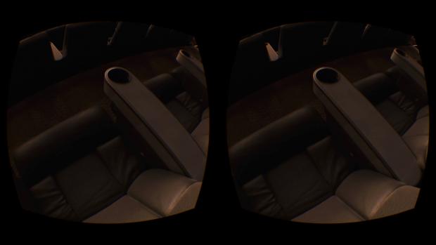 Lebensechter Kinosaal im Oculus Cinema (Screenshot: Golem.de)