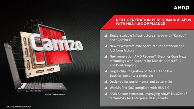 Carrizo im Überblick (Bild: AMD)