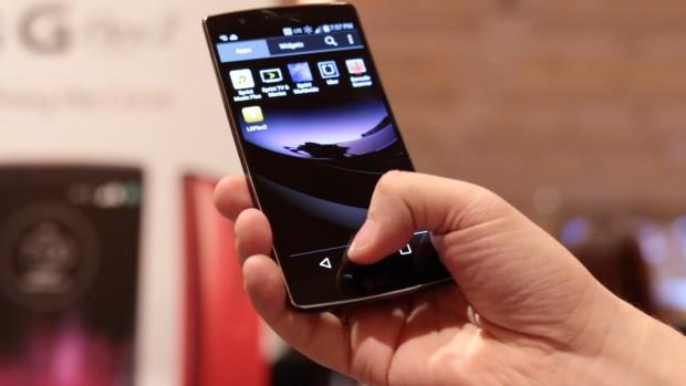 Das neue G Flex 2 von LG (Bild: Golem.de)