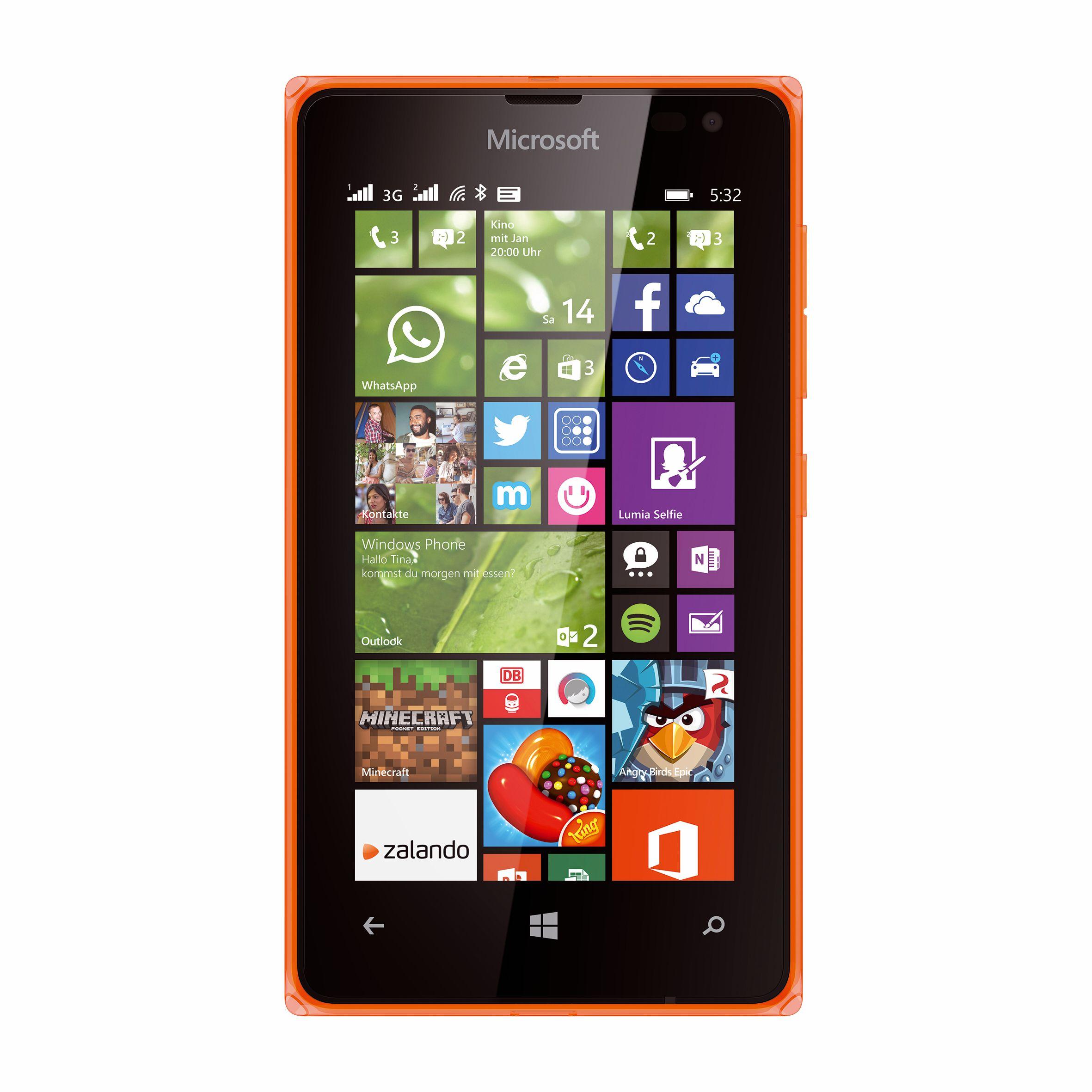 Lumia 435 und Lumia 532: Zwei Windows-Phone-Smartphones für unter 100 Euro - Lumia 532 (Bild: Microsoft)