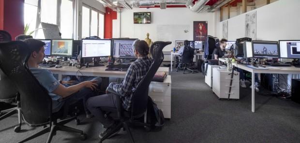 Arbeit an The Witcher 3 bei CD Projekt Red in Warschau (Foto: CD Projekt)