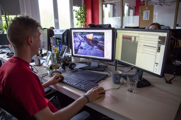 Arbeit an The Witcher 3 bei CD Projekt Red in Warschau (Foto: CD Projekt)