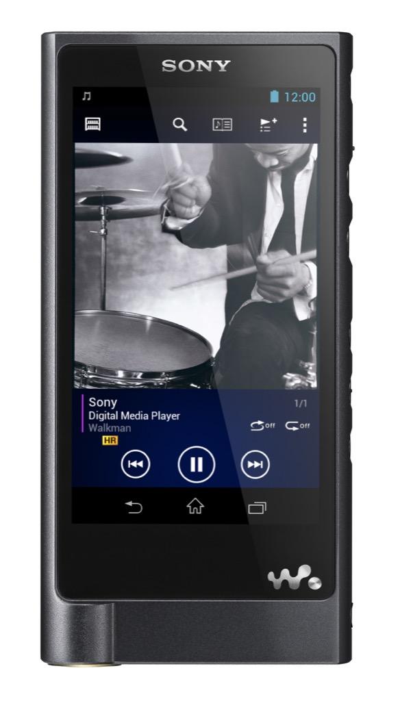 Sony: Wiedergeburt des Walkmans für 1.200 Euro - Sony Walkman NW-ZX2 (Bild: Sony)