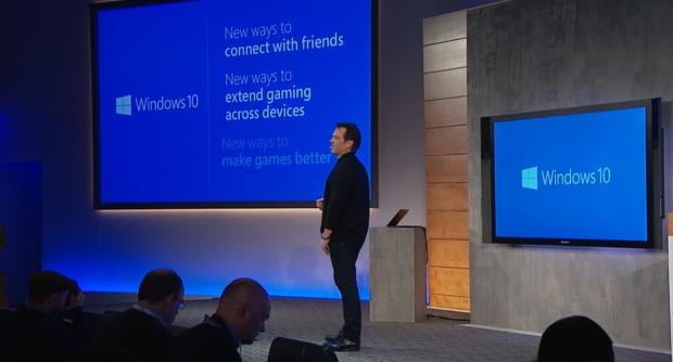 Drei Prinzipien für Spiele mit Windows 10. (Screenshot: Golem.de)