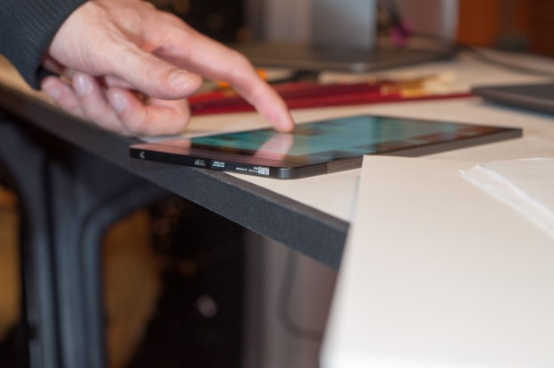 Dells neues Venue 8 ist nur 6 mm dick. (Foto: Andreas Sebayang/Golem.de)