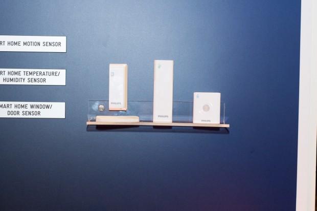 Drei Zigbee-3.0-Sensoren will Philips 2015 auf den Markt bringen, ... (Foto: Andreas Sebayang/Golem.de)
