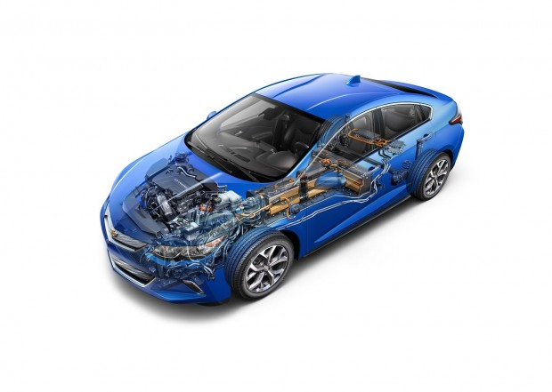 Hybridauto Chevrolet Volt 2016 (Foto: General Motors)