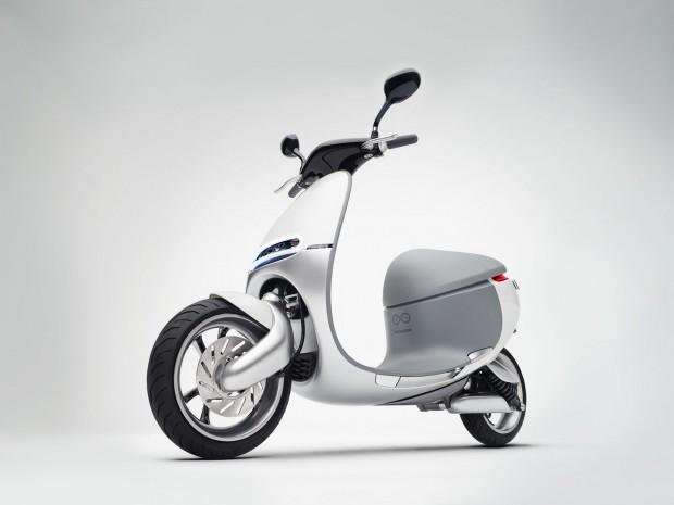 Der Smartscooter ist ein Motorroller mit Elektroantrieb. (Foto: Gogoro)
