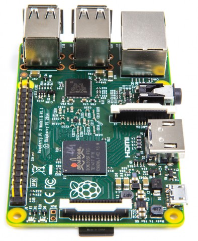 Das Raspberry Pi 2 (Foto: Raspberry Pi)