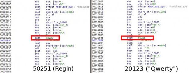Kaspersky fand Code des NSA-Tools Qwerty auch in der Spähsoftware Regin. (Fotos: Kaspersky)