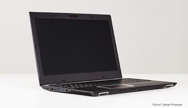 Prototyp-Notebook mit Carrizo (Bild: AMD)