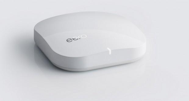 Mit dem Netzwerk-Router Eero lässt sich zu Hause ein WLAN-Netzwerk aufbauen, das flächendeckender, schneller und sicherer als Standard-Netzwerke eines einzelnen Routers sein soll. (Bild: Eero)