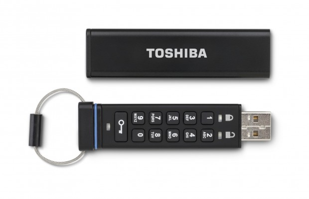 Encrypted USB Flash Drive (Bild: Toshiba)