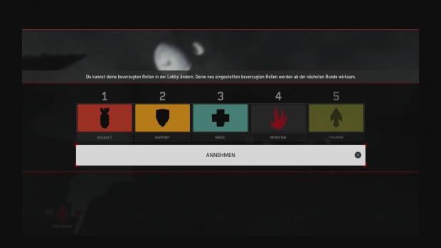 Der Spieler kann festlegen, welche Klasse er bevorzugt - aber manchmal bekommt er doch eine andere zugewiesen. (Screenshot: Golem.de)