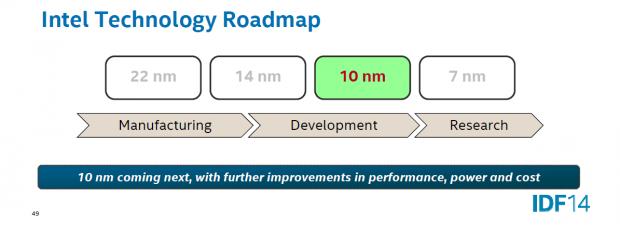 Intel plant 10 nm noch ohne EUV. (Bild: Intel)