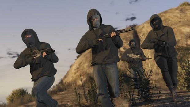 Heists in GTA Online (Bilder: Rockstar Games)