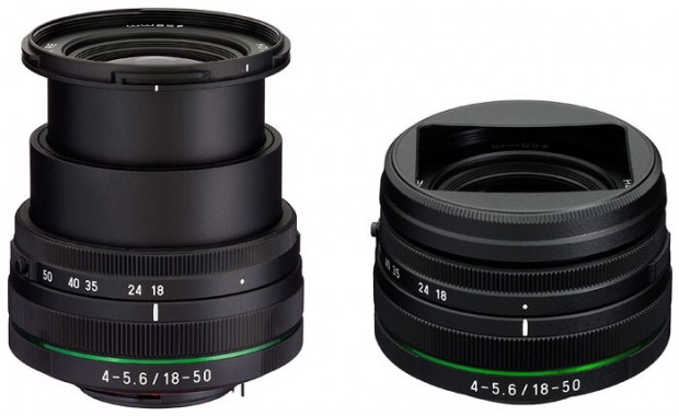 HD Pentax-DA 18-50mm F4-5.6 DC WR RE (Bild: Ricoh)