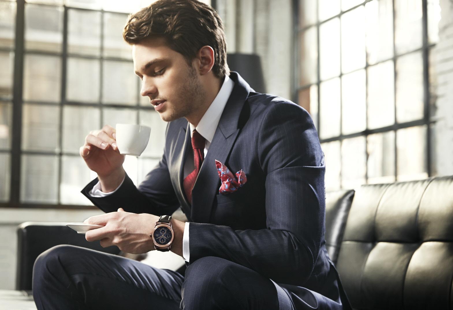 Watch Urbane: LG bringt runde Smartwatch im Edelstahlgehäuse - Watch Urbane (Bild: LG)
