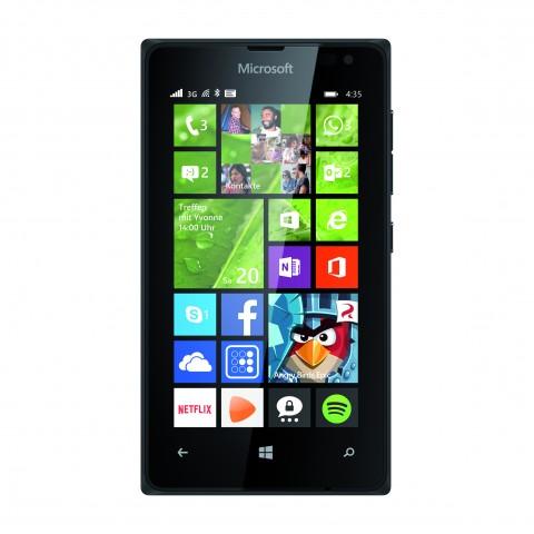Das Lumia 435 (Bild: Microsoft)