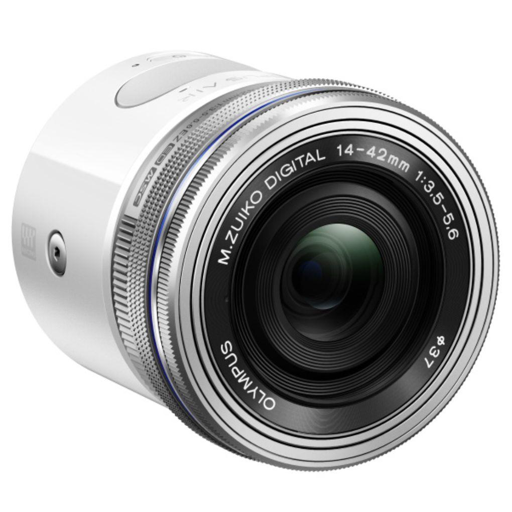 Micro-Four-Thirds-Sensor: Olympus Air ist eine Smartphonekamera zum Anklemmen - Olympus Air (Bild: Olympus)