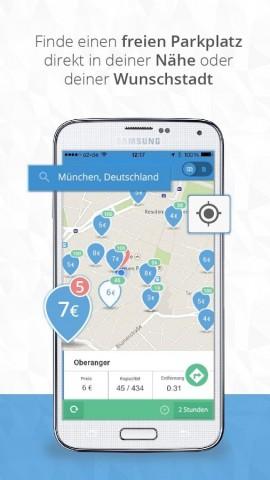 Parkpocket für Android (Bild: Parkpocket)