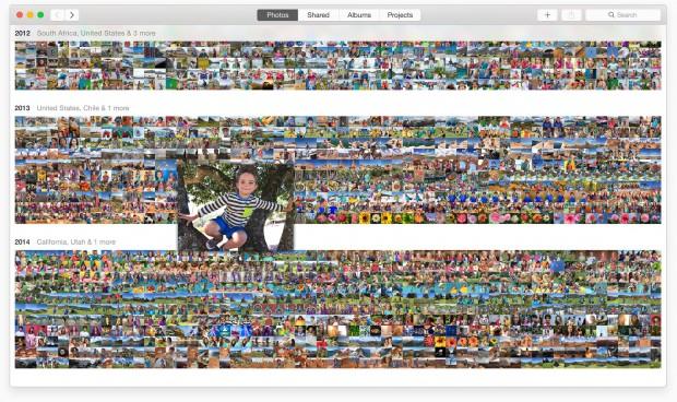 Photos für OS X (Bild: Apple)