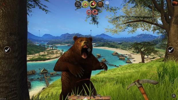 Der Bär ist eines der gefährlichsten Tiere. (Bild: Atypical Games)