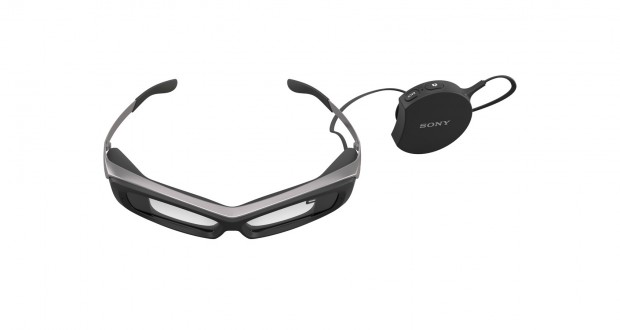 Sonys Datenbrille Smart Eyeglass (Bild: Sony)