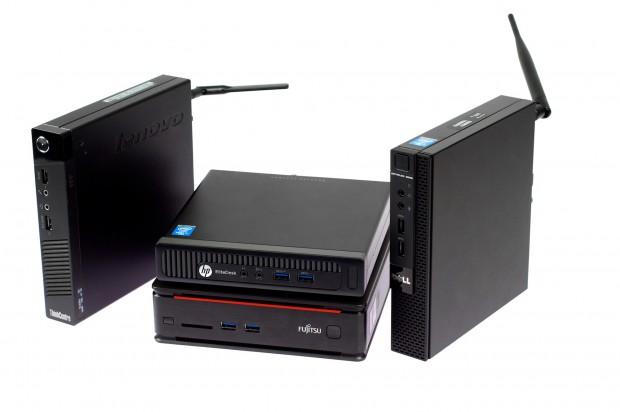 In der Mitte sind die Rechner ohne sichtbare Antenne. (Foto: Andreas Sebayang/Golem.de)